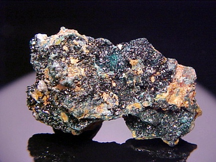 Copper Zinc Mineral Herbertsmithite found in natural crystals