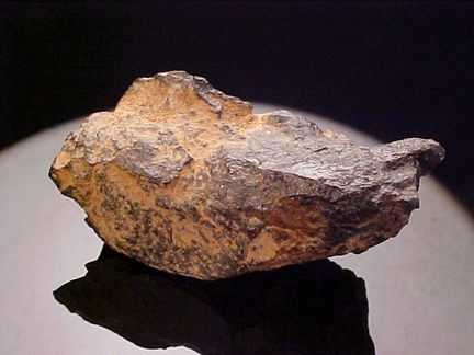 File:Native iron in basalt (Siberian Traps Flood Basalt, Permian ...