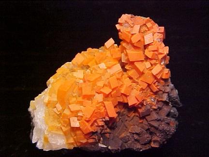 Chalcotrichite inc. Calcite - Tsumeb, Namibia