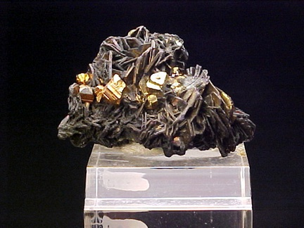 Covellite and Pyrite - Butte, Montana