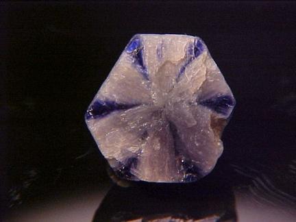Trapiche Sapphire - Burma