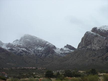 snowy mountain - Tucson, AZ