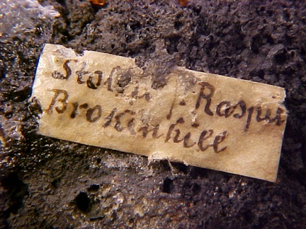 Raspite - Broken Hill, Australia