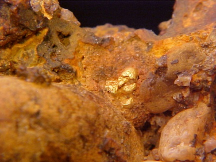 Native Gold & Diamond in Conglomerate - Brazil