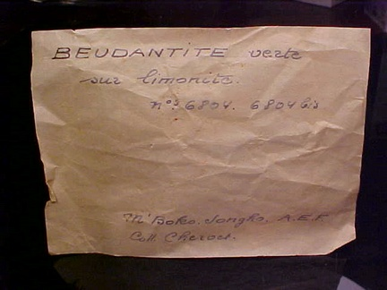 Beudantite - Congo